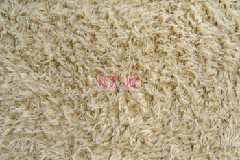 Fluffy faux fur backdrop Beige