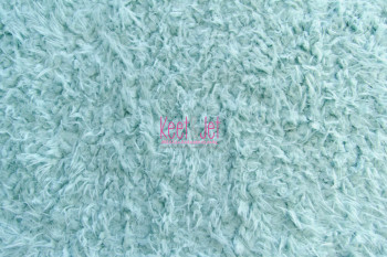 Fluffy faux fur backdrop Light Blue