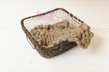 Metalen draadmand, wire basket