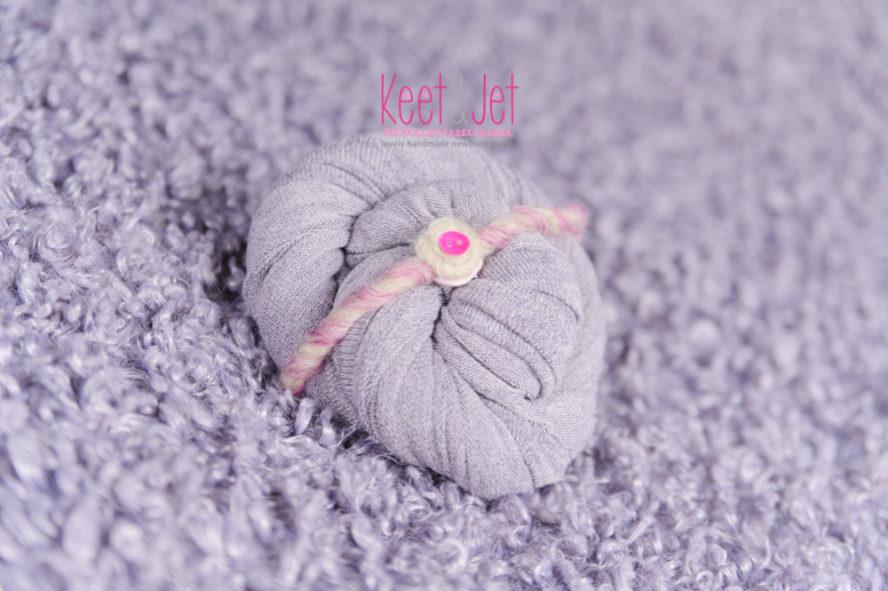 Curly Faux Fur lilac set