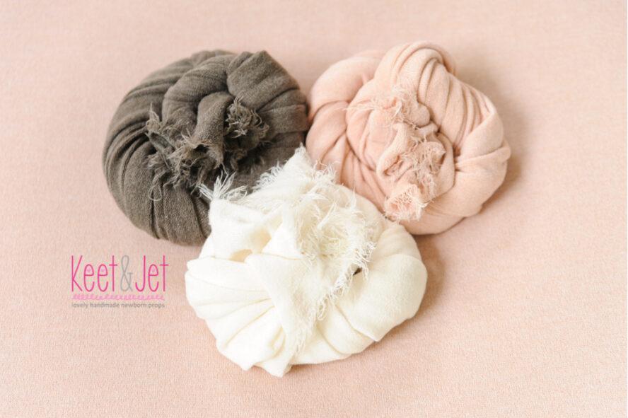 Newborn wrap stretch knit fabric