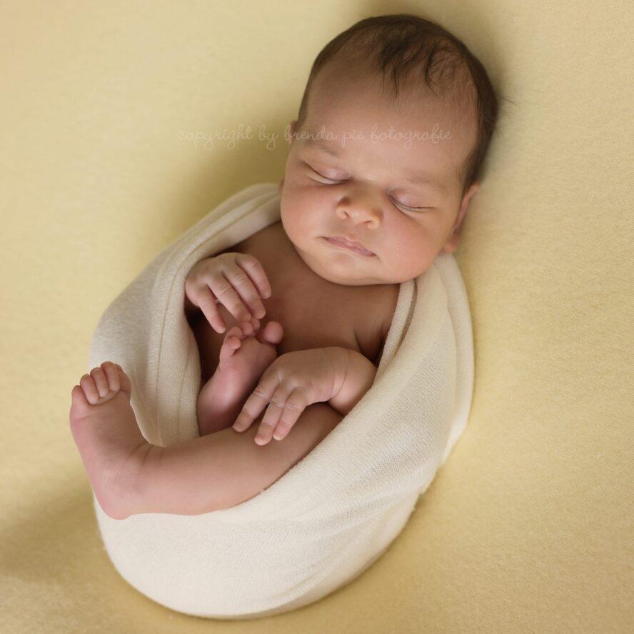 Brenda Pie Newborn fotografie - Stretch knit wrap
