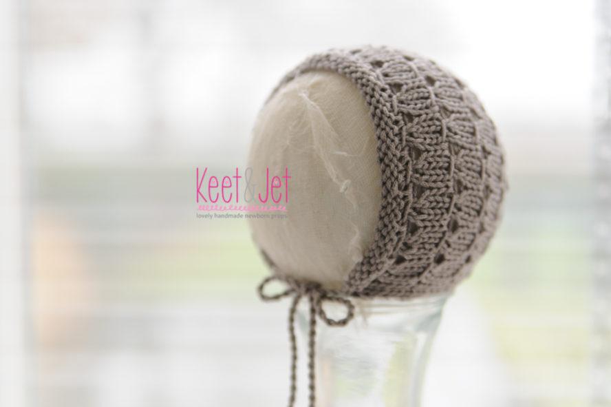 Newborn bonnet Tobi