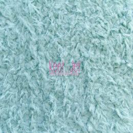 Fluffy faux fur backdrop Light Blue