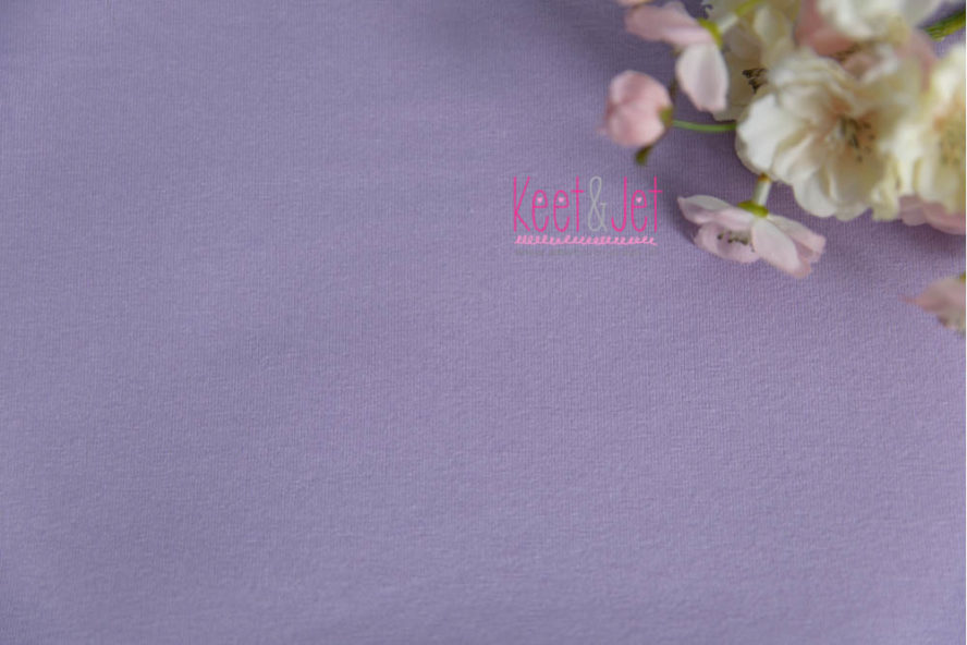 Julie - Stretch Jersey Backdrop - Lilac