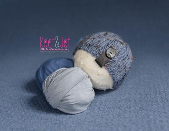 Jimmy - Textured beanbag posing fabric set doppy