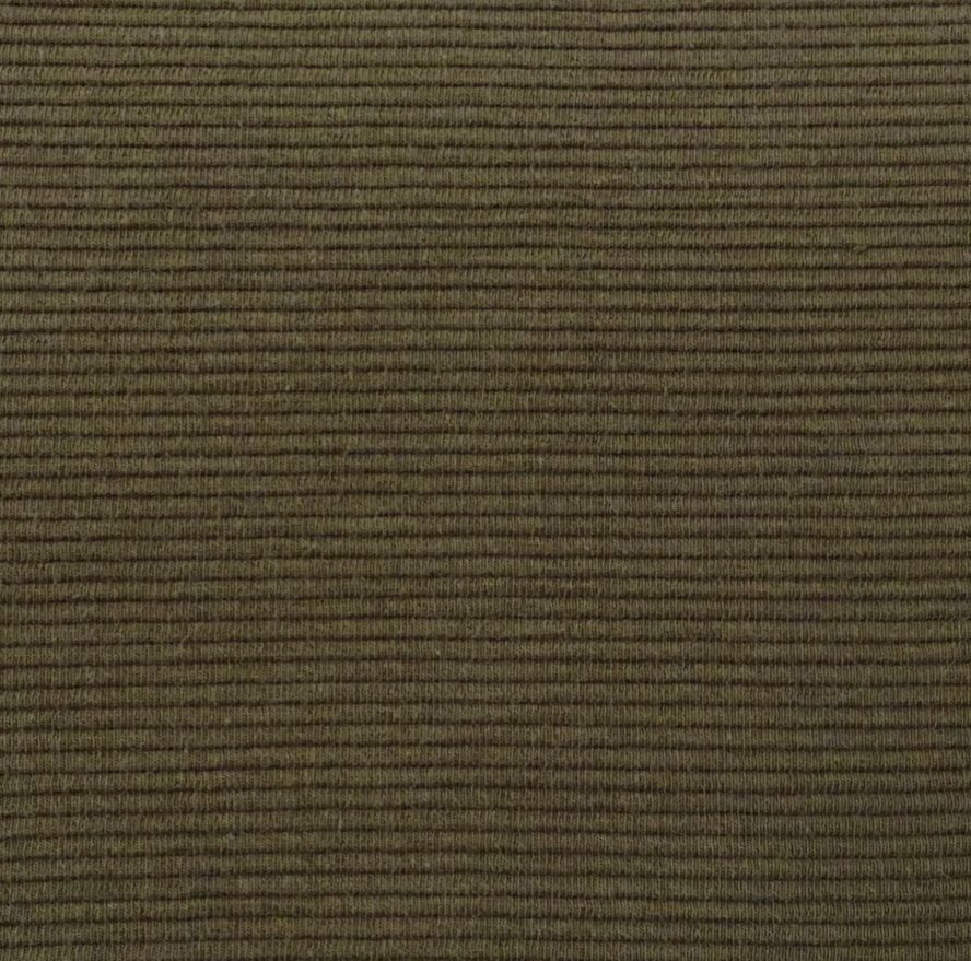 Cato stretch ribbed fabric backdrop army