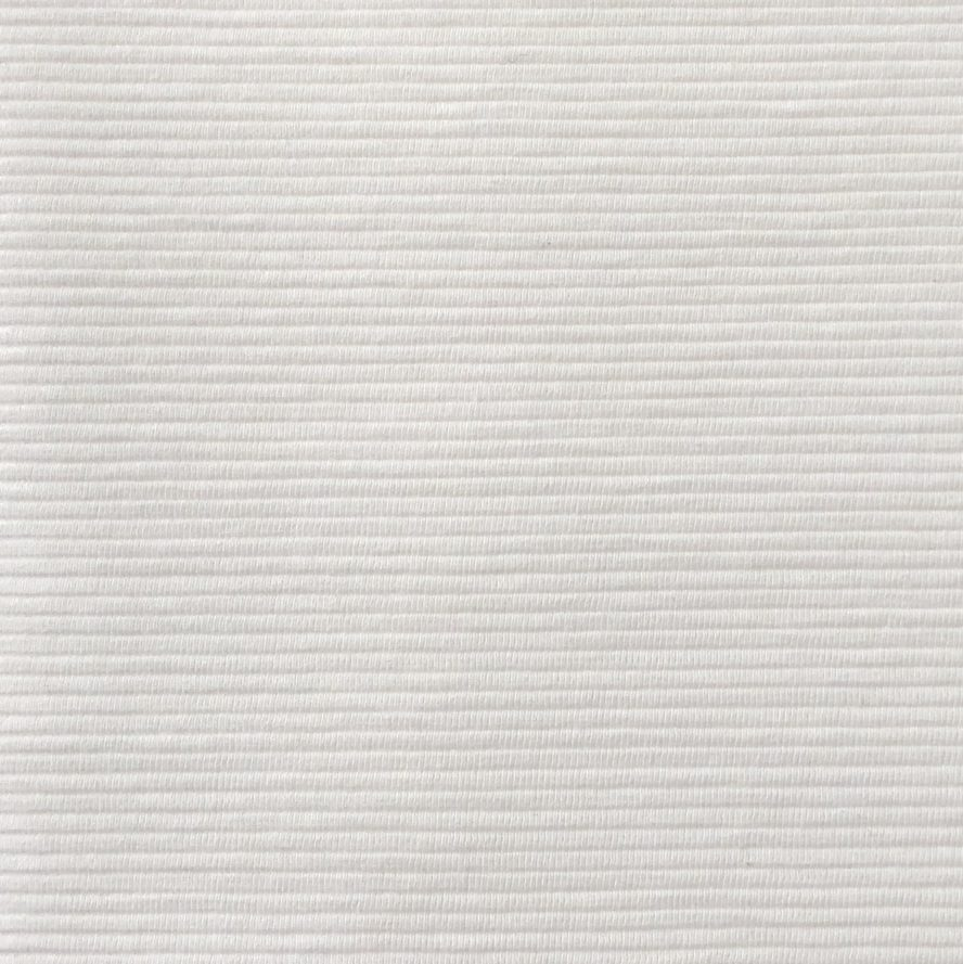 Cato stretch ribbed fabric backdrop off white