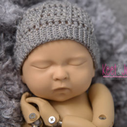 Randy Newborn beanie grey
